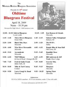 2009 MRBA Spring Festival in Stevensville