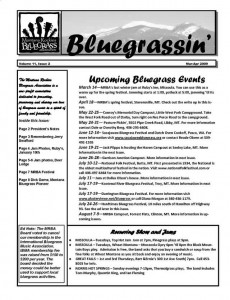 MRBA Newsletter Vol 11 Issue 2 (Mar-Apr 2009)