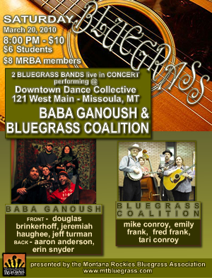2010-03 MRBA BabaGanoush & Bluegrass Coalition