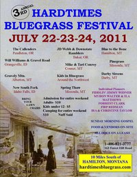 Hardtimes Bluegrass Festival nr Darby