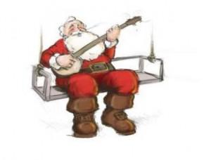 Banjo Santa
