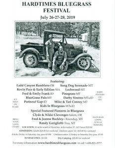 Hardtimes Bluegrass Festival 2019 @ Hardtimes Bluegrass Festival